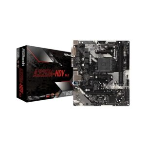 ASRock A320M-HDV R4.0 Motherboard