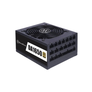 SilverStone DA1650 Gold SMPS – 1650 Watt 80 Plus Gold Certification Fully Modular PSU With Active PFC