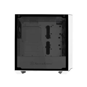 SilverStone PM02 (ATX) Mid Tower Cabinet With Tempered Glass Side Panel (White)