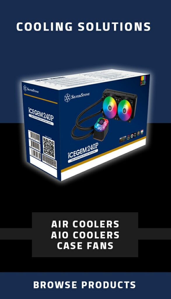 silverstone aio coolers