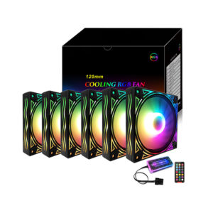 TDS OCTA FLOW ARGB FANS KIT (6 fans set)